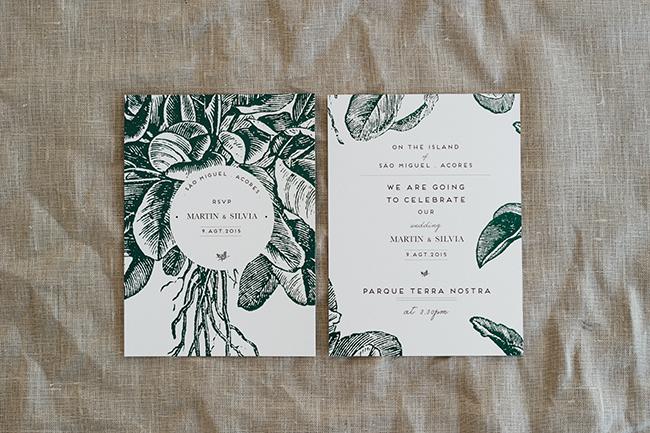 Martin & Silvia – Convites / Wedding Invitations
